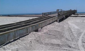 St. Augustine Beach Pier renovation project