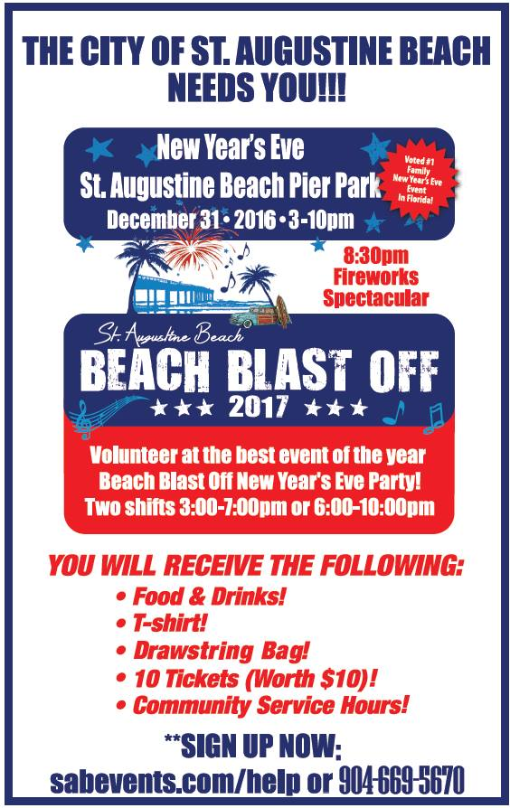 Beach Blast Off 2017, Beach Blast Off, St. Augustine Beach Pier, St. Augustine Beach