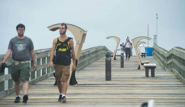 St. Johns County Pier, St. Augustine Beach Pier, St. Johns Count Pier and pier park, City of St. Augustine Beach, St. Augsutine Beach, things to do in st. augustine beach