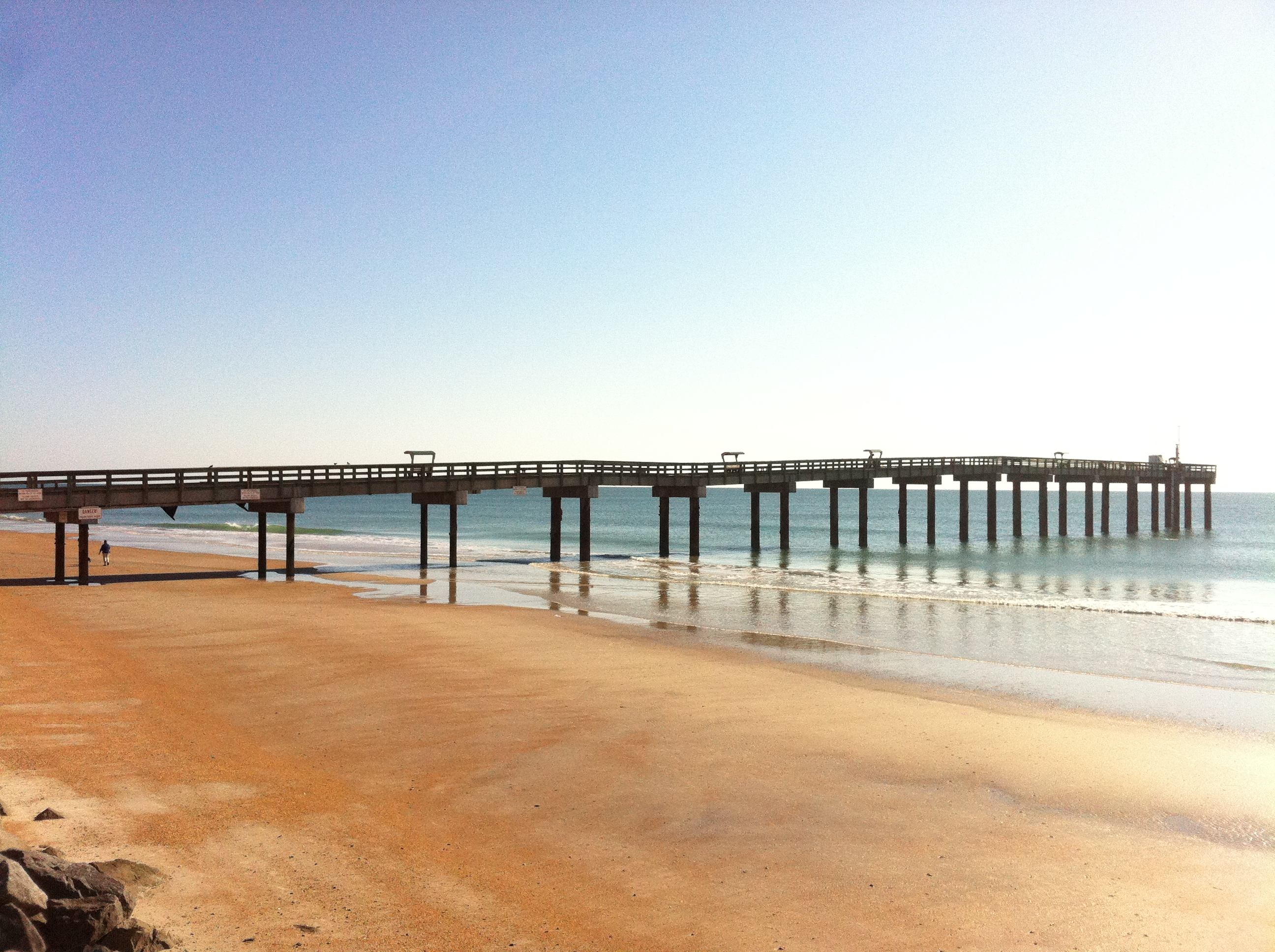 Picture Of St Augustine Beach Pier