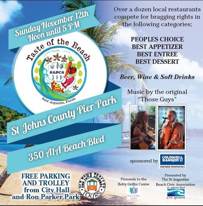 Taste of the Beach, St. Augustine Beach Pier, St. Johns County Pier, St. Augustine Beach, Sunset Grille, Panama Hatties