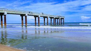 St. Augustine Beach Pier, St. Johns County Pier, St. Augustine Beach, Pier, St. Augustine Fishing Pier