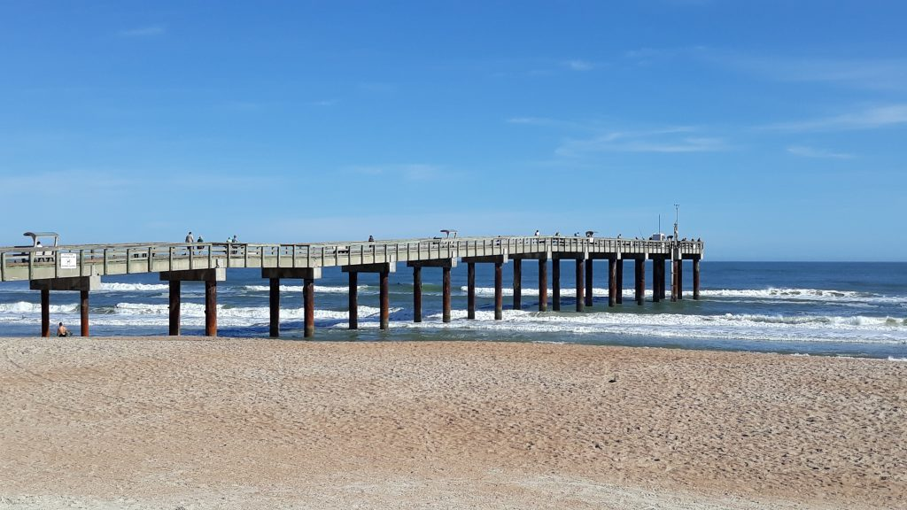The St. Augustine Beach Pier, St. Johns County Pier, St. Augustine Beach Pier Park, City of St. Augustine Beach, St. Johns County Beaches