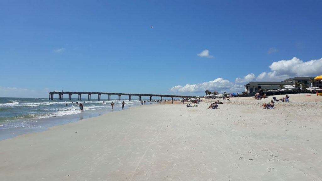 St. Augustine Beach Pier, Pier Park and Pavilion, Splash Park, St. Johns County Pier, St. Augustine Beach, Things to do at the Beach